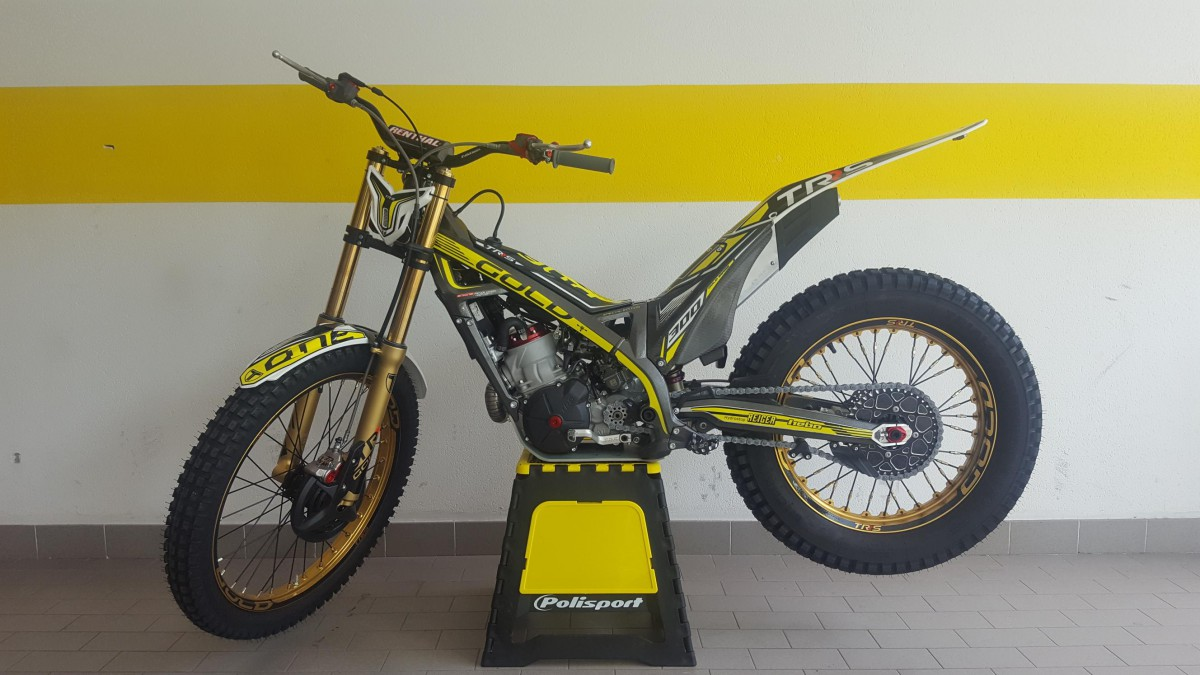 TRS  ONE 300 GOLD EDITION 2018