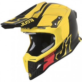 CASCO JUST J12 SYNCRO CARBON YELLOW XS