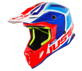 CASCO JUST1 J38 BLADE BLUE-RED-WHITE M