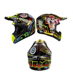 CASCO AIROH SWITCH FLIPPER GLOSS S