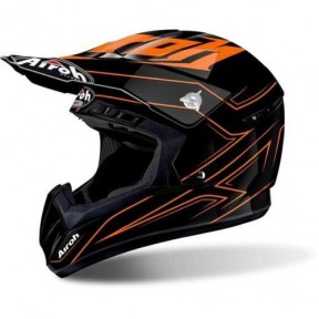 CASCO AIROH SWITCH SPACER ORANGE GLOSS L