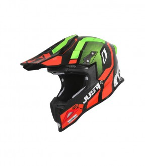 CASCO JUST1 J12 VECTOR RED/ LIME/ CARBON  XS